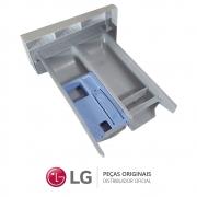 Gaveta do Dispenser de Sabão Branca para Lavadora LG WD-1409FDA