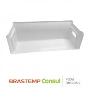 Gaveta Inferior do Freezer 326031502 Refrigerador Brastemp BRE48D, BRE49BB, BRE49BE, BRE49BR