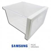 Gaveta Superior do Freezer para Refrigerador Samsung RS21HDT, RS21HDU, RS21HKL, RSH1KLB e RSH1KLM