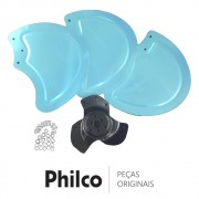 Hélice Circular de Alumínio 777585 Circulador de Ar Philco C50 TURBO