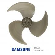 Hélice Condensadora DB67-01407A Ar Condicionado Samsung AR09MVPXAWK AR12MVPXAWK AR12NSPXBWK