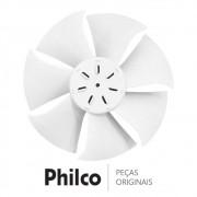 Hélice do Ventilador da Condensadora para Ar Condicionado Philco PH9000TFM5, PH9000TQFM5