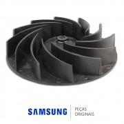 Hélice do Ventilador de Secagem para Lava e Seca Samsung WD6122CKC, WD6122CKCF, WD6122CKS WD6122CKSF