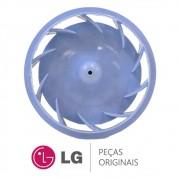 Hélice / Microventilador do Duto de Ar do Freezer Refrigerador LG GR-B501GLQ, GR-B507GSQ, GR-S637GSP