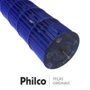 Hélice / Ventoinha do Ventilador da Evaporadora para Ar Condicionado Philco PH18000FM5, PH18000QFM5