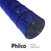 Hélice Ventoinha do Ventilador Evaporadora Ar Condicionado Philco PH24000FM5 PH24000IFM5 PH24000QFM5