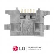 Jack / Conector Micro USB 5 Pinos Celular / Smartphone LG K11 PLUS LMX410BCW, LG K11 LMX410BTW