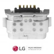 Jack / Conector Micro USB 5 Pinos Celular / Smartphone LG K9 LMX210BMW