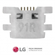 Jack / Conector Micro USB 5 Pinos Celular / Smartphone LG X POWER, LG K10, LG Q6