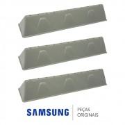 KIT 03 Batentes Do Cesto DC66-00493A Lava e Seca Samsung WD0854W8EF1XAZ WD0854W8NF1XAZ