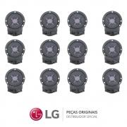 KIT 12 Eletrobombas, Bomba de Drenagem 110V EAU61383506 Lava e Seca LG WD-1409FD WD-1403RD WD-1409RD