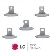KIT 5 Puxadores da Porta MEB61281101 Lavadora e Lava e Seca LG WD-1403FD, WD-1403RD, WD-1409RD