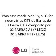 KIT Barras de LED (3 Barras) TV LG 32LA613B, 32LN5400, 32LN540B, 32LN546B, 32LN570B