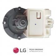 KIT Bomba de Drenagem + Bomba de Recirculação 220V Lavadora e Lava e Seca LG WD-1403FDA, WD-1409FDA