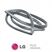 KIT Borracha Porta / Gaxeta Inferior e Superior Refrigerador LG GR-B501GLQ GR-B507GSQ1 GR-S501GLP