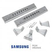 Kit de Empilhamento SK-5A/XAA para Lavadora e Secadora Samsung WF431ABP, WF448AAP, DV431AGP DV448AGP