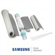 Kit Isolante de Instalação do Dreno da Evaporadora para Ar Condicionado Samsung MH030FMBA, MH035FMBA
