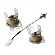Kit Sensor de Temperatura e Termostatos de Secagem para Lava e Seca Samsung WD106U e WD856U