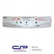 Membrana Painel Frontal / Adesivo 326037767 Lavadora Brastemp BWM08A, BWM08AB