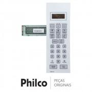 Membrana / Painel Frontal Branco Micro-Ondas Philco PMO21B