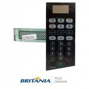 Membrana / Painel Frontal para Micro-ondas Britânia BM22