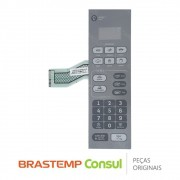 Membrana / Painel Frontal W10563664 Micro-ondas Consul CM0/220AF, CM0/220BF, CM020AF, CM020BF