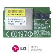 Módulo Wireless / Wi-fi LGSWFAC71 / EBR84179201 TV LG 24MT49S 24TL520S 28MT49S 32LJ550B 32LJ600B
