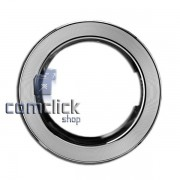 Moldura Frontal Cromada da Porta para Lava e Seca Samsung WD0854W8N1, WD0854W8NF1