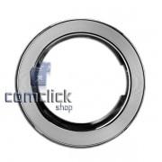 Moldura Frontal Cromada da Porta para Lava e Seca Samsung WD8854RJ