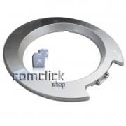 Moldura Frontal Prata da Porta para Lava e Seca Samsung WD-Q1255V, WD-Q1456V