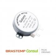 Motor do Prato Giratório SM-16E W10313529 para Micro-ondas Brastemp Consul BMF45AB, BMS35AB, CMA20AB