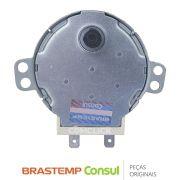 Motor do Prato Giratório SM-16U 120V 3W W10313490 Micro-ondas Brastemp Consul BMS35, CMS18, CMA20