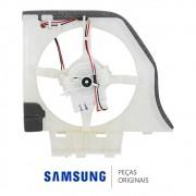 Motor do Ventilador Externo DRCP5030LA 12V2,5W 0,21A  com Suporte e Cabo para Refrigerador Samsung