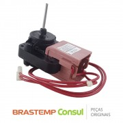 Motor do Ventilador Interno 220V W10310999 / IS-27213BWPC Geladeira Brastemp / Consul BRE43A BRM33C