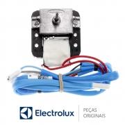Motor Ventilador 220V 60HZ com Rede Sensor 70201290 Geladeira Electrolux DF51 DF52 DFW52 DT80X DF80