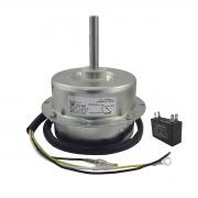Motor Ventilador Condensadora 220V YDK 110 H-6 com Capacitor CBB61 Ar ELGIN KEFE36B2NA OUFE80B4NA