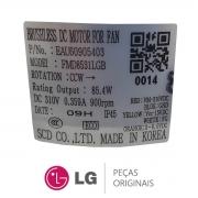 Motor Ventilador da Condensadora 85W 310V 0.359A EAU60905403 Ar Condicionado LG A3UW21GFA0 AUUQ48GH0