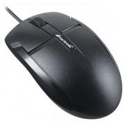 Mouse Óptico USB 1000dpi OM101 Preto FORTREK