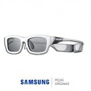 Óculos 3D Ativo SSG-3300CR Branco Recarregável Para TVs Samsung Plasma e LED diversos modelos