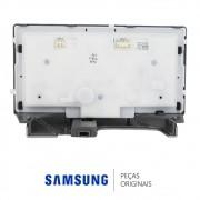 Painel de Função Completo Prata da Porta do Freezer para Refrigerador Samsung RS21HDUPN