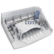 Painel Frontal Cor Inox da Gaveta do Dispenser Lavadora e Lava e Seca Samsung WD1142XVM, WF431ABP