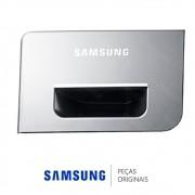Painel Frontal da Gaveta do Dispenser Lavadora e Lava e Seca Samsung WD106UHSAGD, WD106UHSAGDF