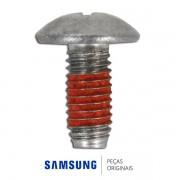 Parafuso M5,L12 de Fixação da Dobradiça da Porta para Lavadora e Lava e Seca Samsung