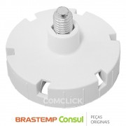 Pé Estabilizador Branco 326037533 Geladeira Brastemp / Consul Diversos Modelos