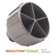 Pé Nivelador W10388140 para Geladeira Brastemp Consul BRM39EK, CRM35NK, CRM42NK