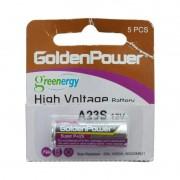 Pilha / Bateria A23 12V Golden Power para Uso Geral