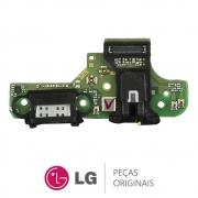 Placa Conector de Carregamento Celular / Smartphone LG K50S LMX540BMW