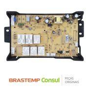 Placa Controle / Potência AZ130-00248-2 / W10806305 Forno Elétrico Brastemp BO260AR GOC60AB GOC60BB