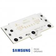 Placa de Controle do Painel 09-PJT da Porta do Freezer Refrigerador Samsung RS21HDTSW, RS21HDTTS
