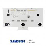 Placa de Controle do Painel da Porta do Freezer para Refrigerador Samsung RS21HKLBG1, RS21HKLMR1